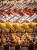 Valanga dei dessert e del dolce Immagine Stock Libera da Diritti