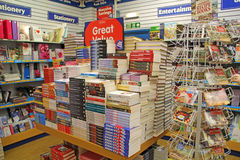 Valanga dei libri immagini stock libere da diritti