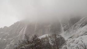Valanga Himalaya al MbC fotografie stock libere da diritti