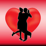 Valantine Dance Royalty Free Stock Photo