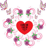 Valantine i love you Royalty Free Stock Photography