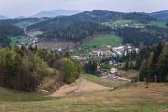 Valasska Bystrice in der Tschechischen Republik stockfoto