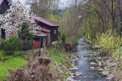 Valasska Bystrice in der Tschechischen Republik lizenzfreie stockfotografie