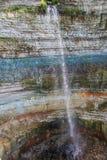 Valaste-Wasserfall, Estland Lizenzfreie Stockfotos