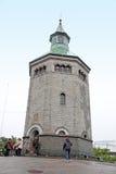 Valberg torn, Stavanger, Norge royaltyfria foton