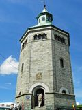 Valberg torn Valbergtårnet i Stavanger, Norge arkivfoto