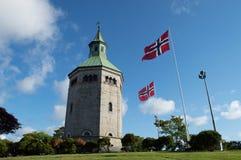Valberg, tour de guet de Stavanger Image stock