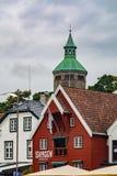 Valbergtarnet或Valberg塔在斯塔万格,挪威 库存照片