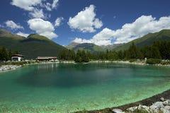 Valbione jezioro Zdjęcia Royalty Free