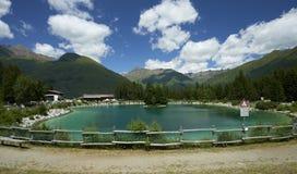 Valbione jezioro Fotografia Stock