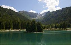 Valbione jezioro Zdjęcia Stock