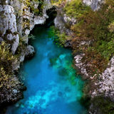 Valbona River in Albania Stock Images