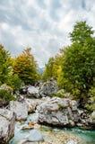 Valbona river national park North Albania Bajram Curri tourism Royalty Free Stock Images