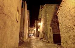 Valbonne中世纪村庄  库存图片
