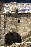 Valchiusella na província de Turin Fotografia de Stock Royalty Free