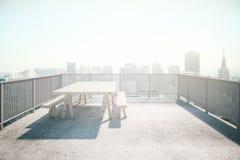 Valcony design concrete Royalty Free Stock Photos