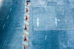 Vald väg för gata Royaltyfria Foton