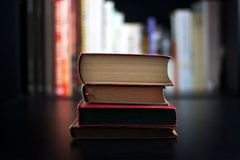 valda böcker royaltyfri foto