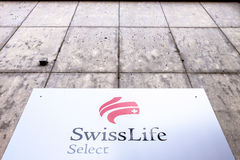 Valda Swiss Life Arkivbild