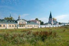 Valdai Iver Svyatoozersky维尔京修道院 库存照片