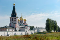 Valdai Iver Svyatoozersky维尔京修道院 免版税库存照片