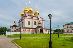 Iversky Cathedral Stock Photography