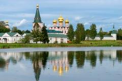 The Valdai Iver Svyatoozersky Virgin Monastery. Stock Photos