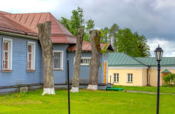 Valdai Iversky Bogoroditsky Svyatoozersky修道院 图库摄影