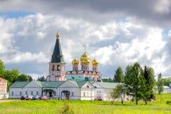 Valdai Iversky Bogoroditsky Svyatoozersky修道院 免版税库存照片
