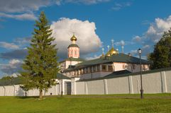 Valdai Iversky monastery Royalty Free Stock Photography