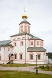 Valdai Iversky Svyatoozersky Bogoroditsky人的修道院 图库摄影
