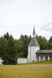 Valdai Iversky Svyatoozersky Bogoroditsky人的修道院 免版税图库摄影