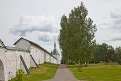 Valdai Iversky Svyatoozersky Bogoroditsky人的修道院 免版税库存图片
