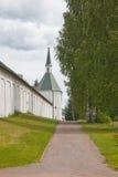 Valdai Iversky Svyatoozersky Bogoroditsky人的修道院 免版税库存照片