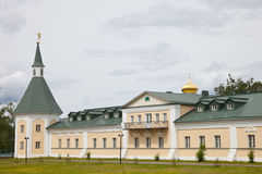 Valdai Iversky Svyatoozersky Bogoroditsky人的修道院 库存图片