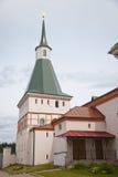 Valdai Iversky Svyatoozersky Bogoroditsky man's monastery. Stock Photos