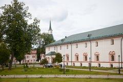 Valdai Iversky Svyatoozersky Bogoroditsky man's monastery. Royalty Free Stock Photos