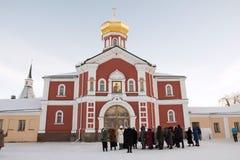 Valdai Iversky Svyatoozersky Bogoroditsky monastery in Russia Royalty Free Stock Image