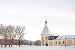 Valdai Iversky Svyatoozersky Bogoroditsky monastery in Russia Royalty Free Stock Photo