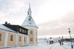 Valdai Iversky Svyatoozersky Bogoroditsky monastery in Russia Stock Images
