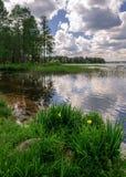 Valdai lake Stock Photography