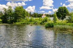 Valdai lake Stock Image