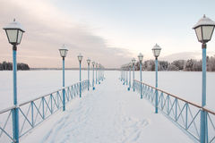 Valdai lake Stock Image