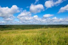 The Valdai Upland. Falevsky mounds, Russia stock photo