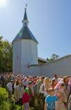 Однолетнее священнейшее вероисповедное шествие Стоковые Изображения RF