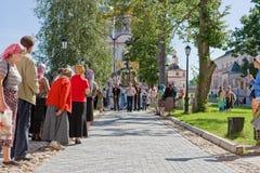 Однолетнее священнейшее вероисповедное шествие Стоковая Фотография RF