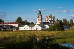 Valday Iversky修道院 库存图片