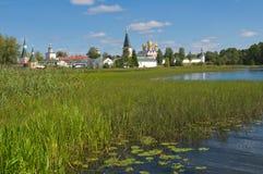Valday Iversky kloster Royaltyfria Bilder