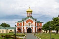Valday Iversky kloster, Ryssland Royaltyfri Bild