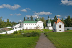Valday Iversky Monastery Stock Photo